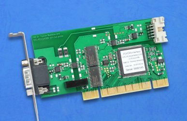 CAN-Einsteckkarte CPC-PCI low profile
