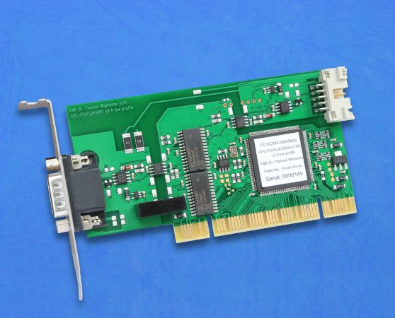 CAN-Plug-In Board CPC-PCI low profile
