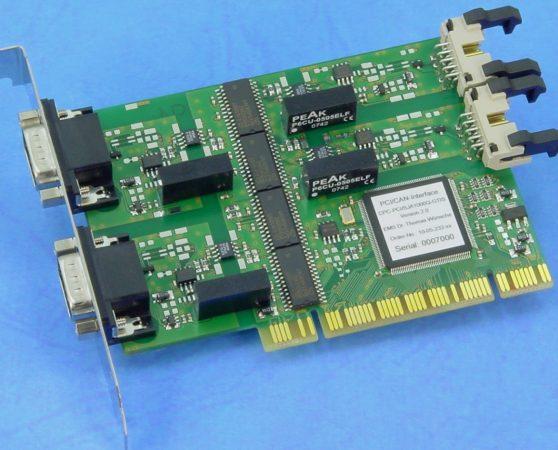 CAN Plug-In Board CPC-PCI