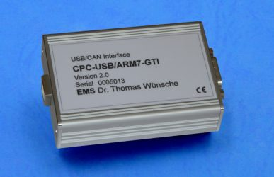USB/CAN Interface CPC-USB/ARM7
