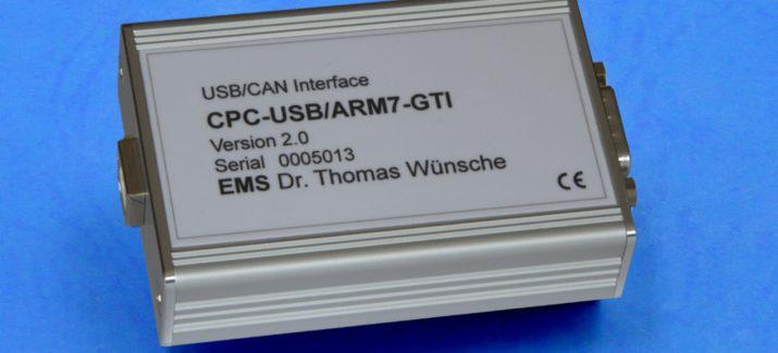 Image: USB/CAN-Interface CPC-USB/ARM7 V2.0