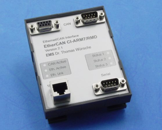 Ethernet/CAN-Interface EtherCAN-CI/ARM7